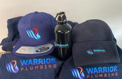 The Warrior Plumbing Swag-bag Give-away