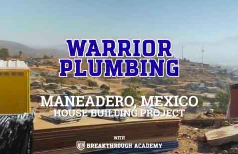 Warrior Plumbing Volunteer Trip to Mexico